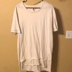 Urban Outfitters Layered White T-Shirt